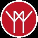 Logo med hvid kant